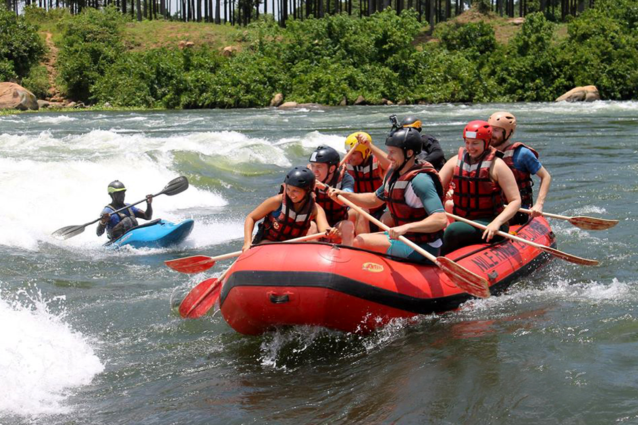 2 Days Jinja Tour with white water rafting adventure on the Nile River