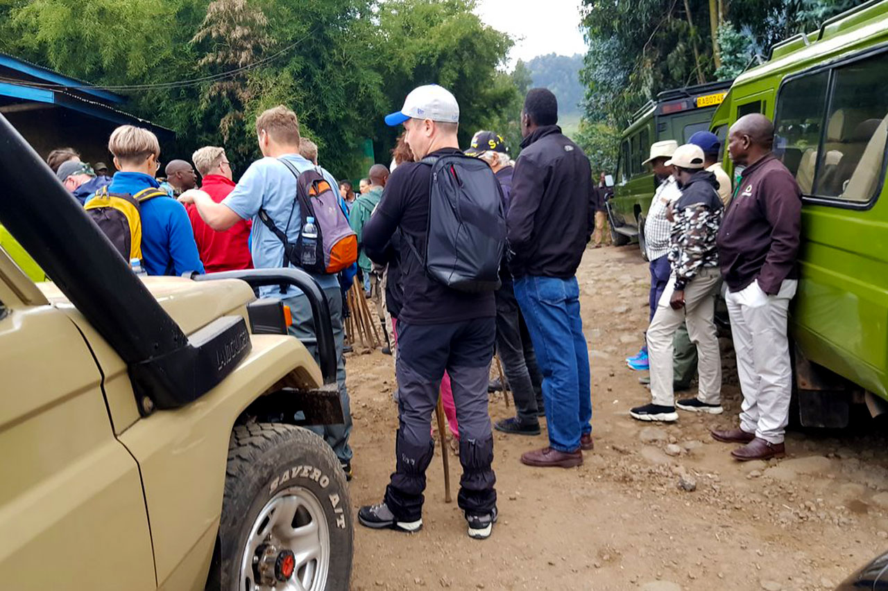 5 Days Rwanda gorilla and wildlife safari