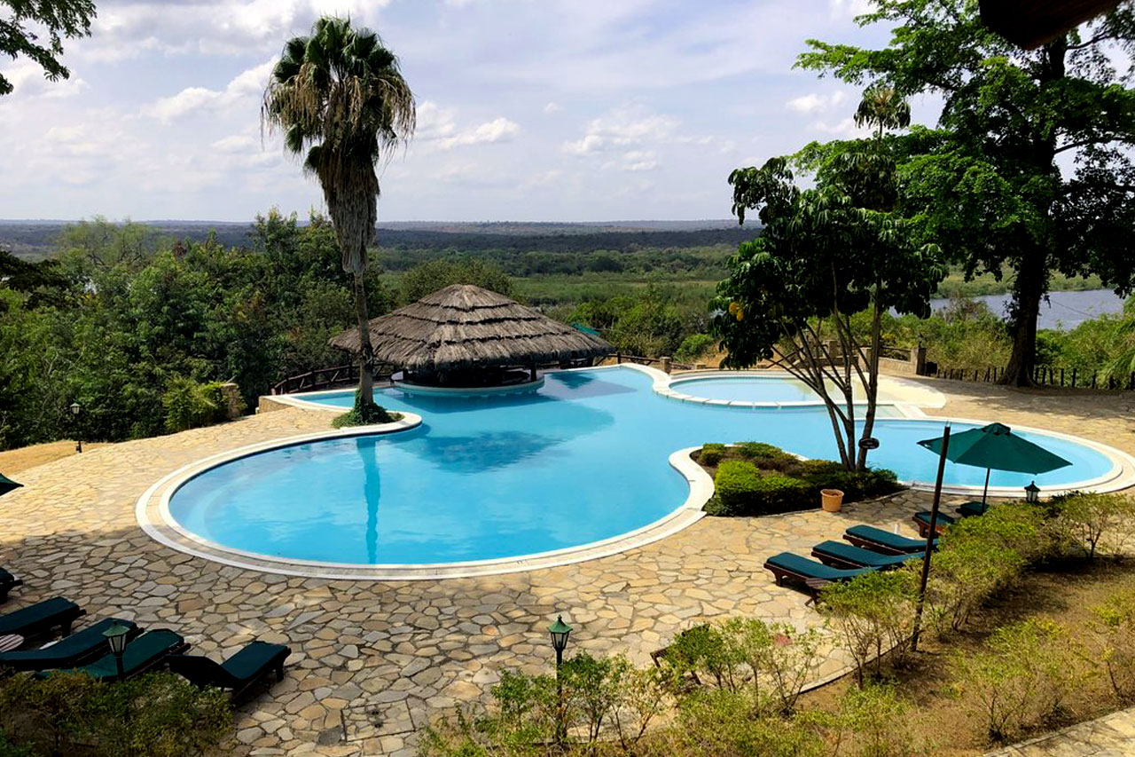 Paraa Safari Lodge in the Murchison Falls National Park