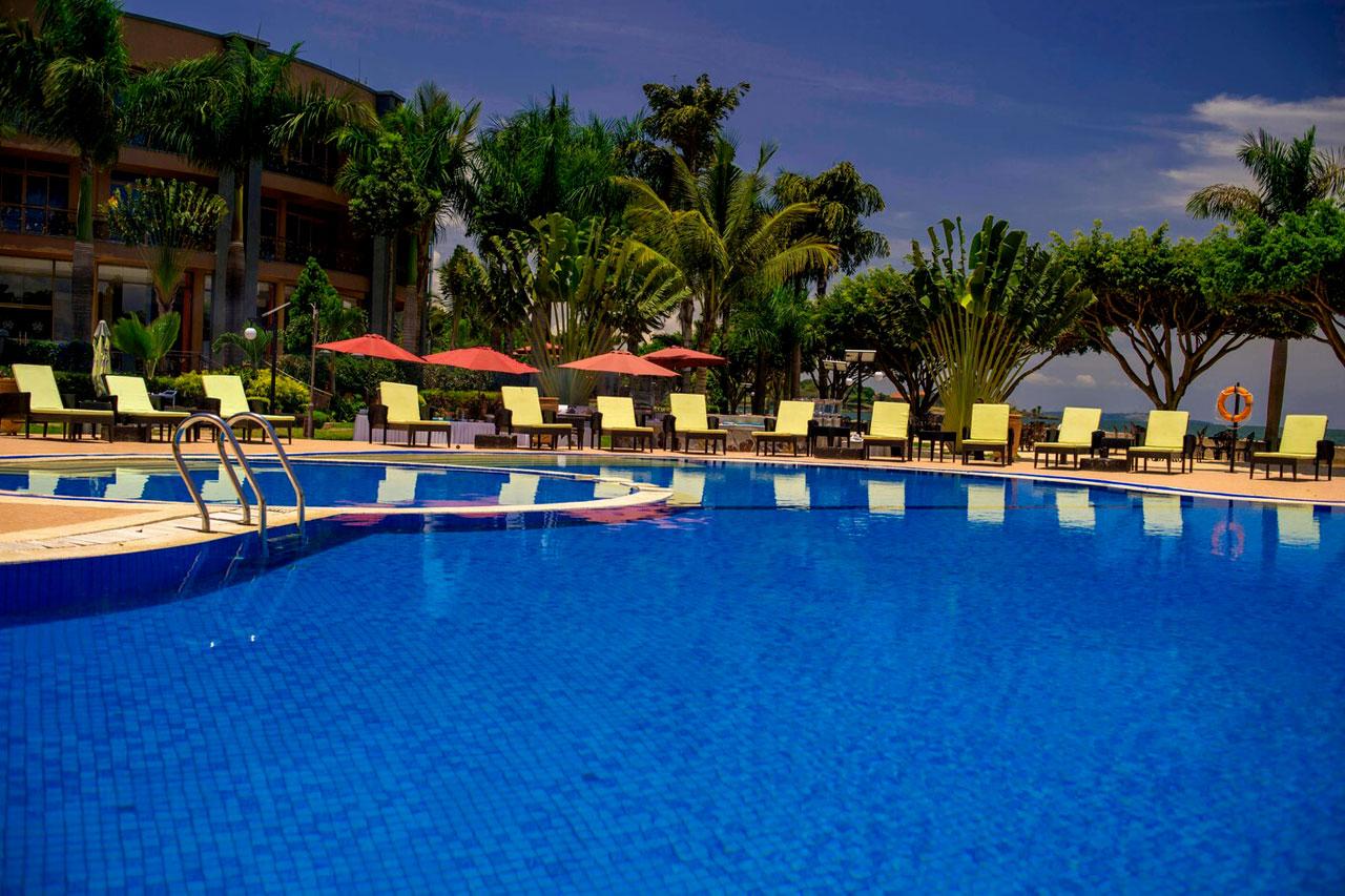Protea Hotel in Entebbe on the shores of Lake Victoria