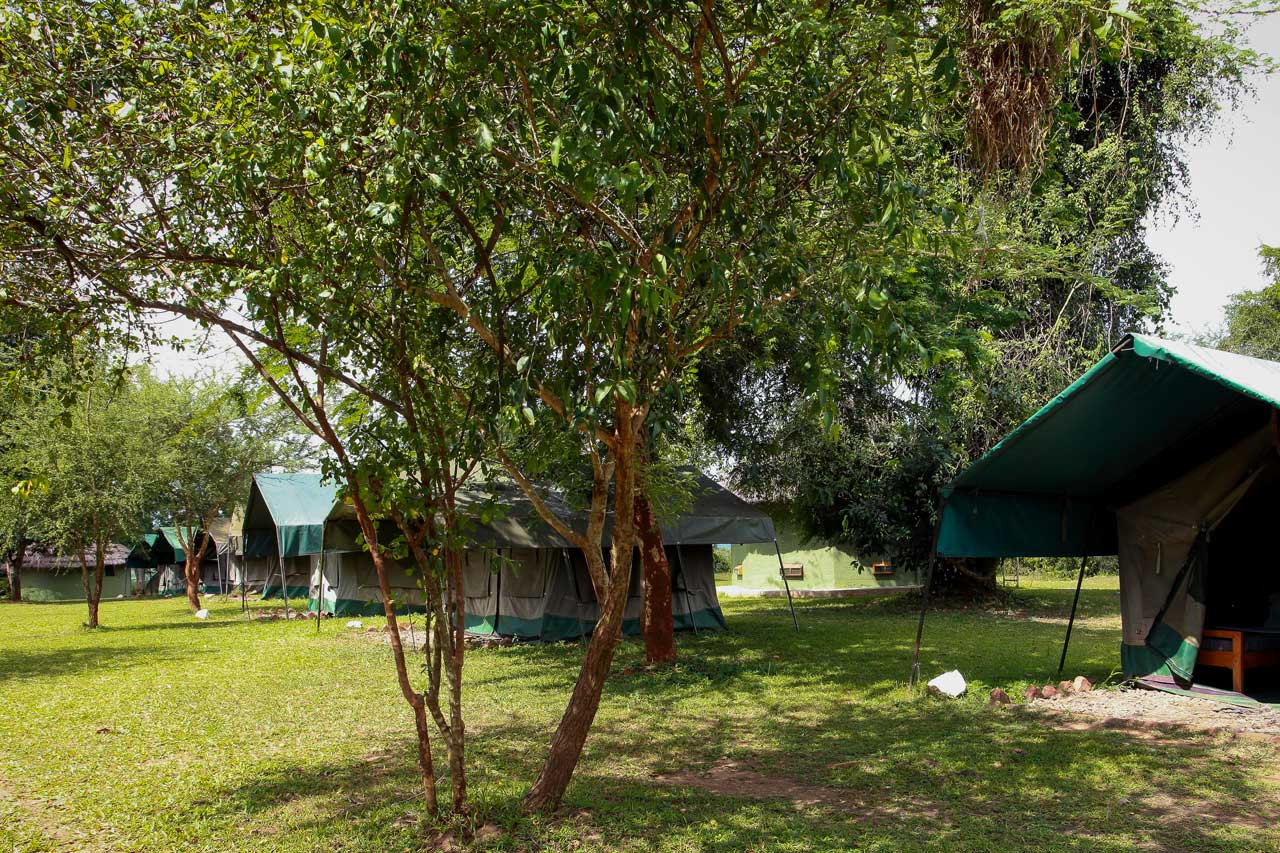 Red Chili Rest Camp in Murchison falls National Park