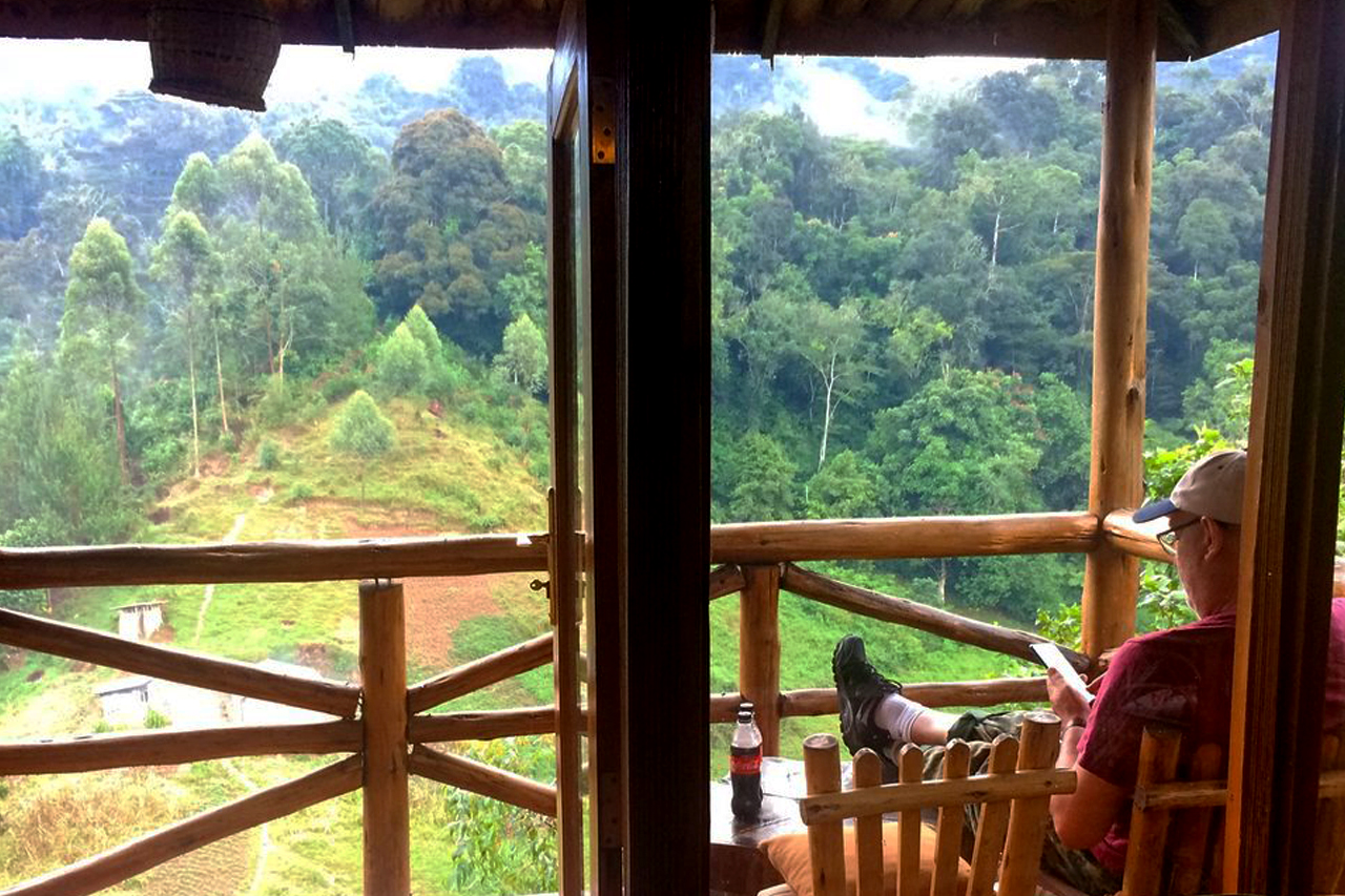 room view of rushaga gorilla camp